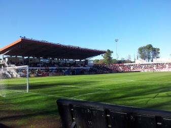 Estadi de Montilivi de Girona des del Gol Sud